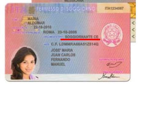 Rinnovo pds per motive familare per un studente visto for Carta soggiorno 2017